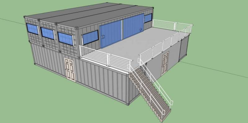 Shipping container home designs off grid world for Beach box house plans