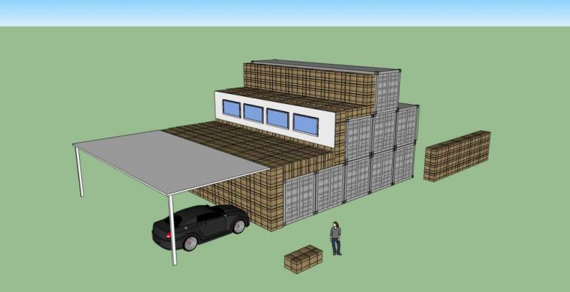 $25k Container House