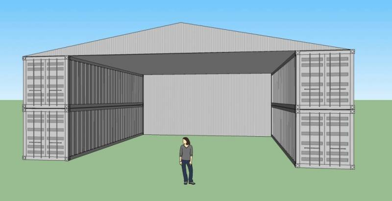 Shipping Container Workshop Warehouse
