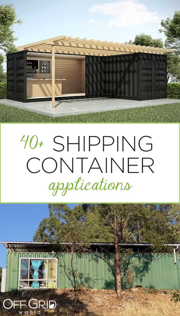 Shipping container applications