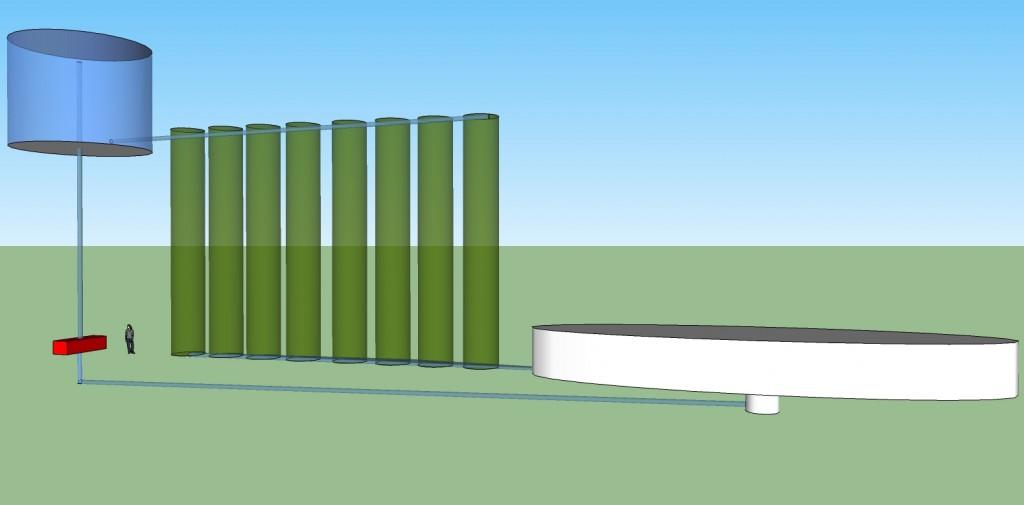 Algae photobioreactor system