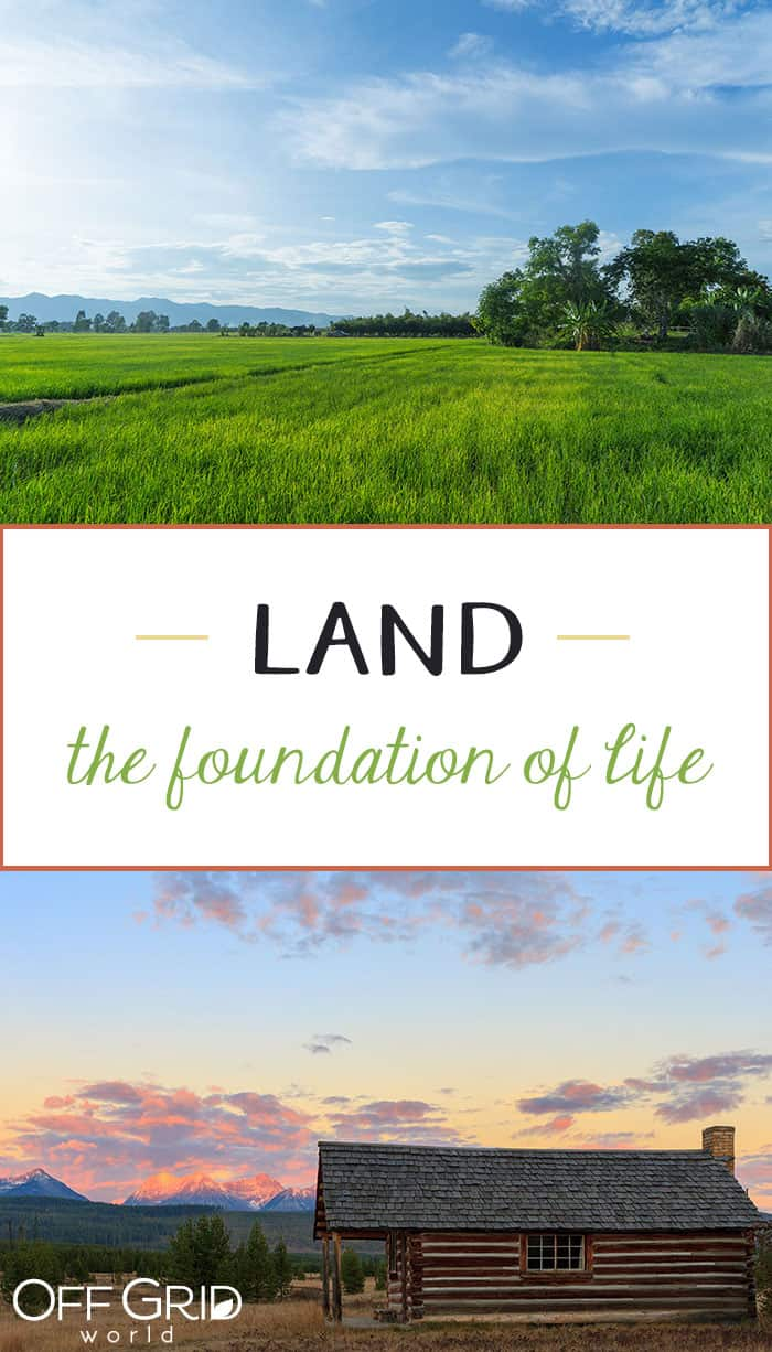 Land for living off grid