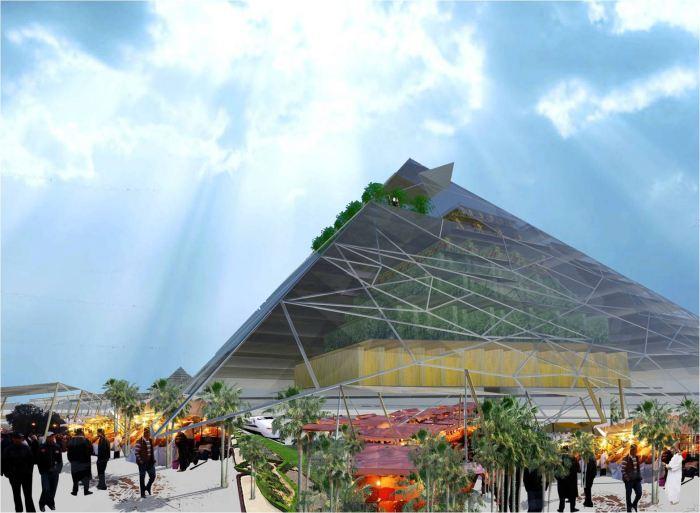 Pyramid Vertical Farm