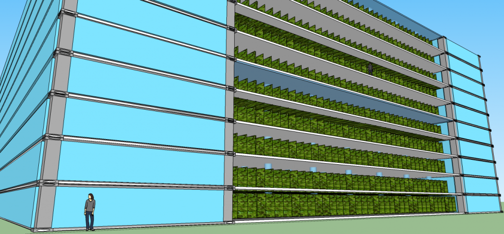 Vertical Farm front