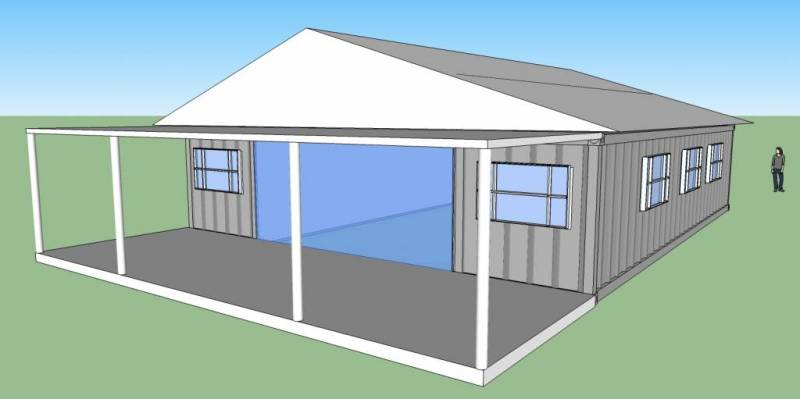 Shipping Container Home Plans 800 x 399