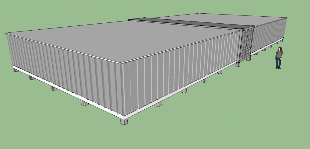 3500sqft Expandable Disaster Relief Shelter