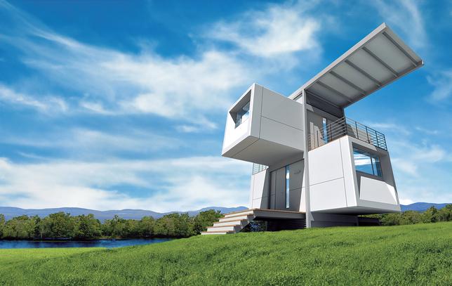 zero house container home