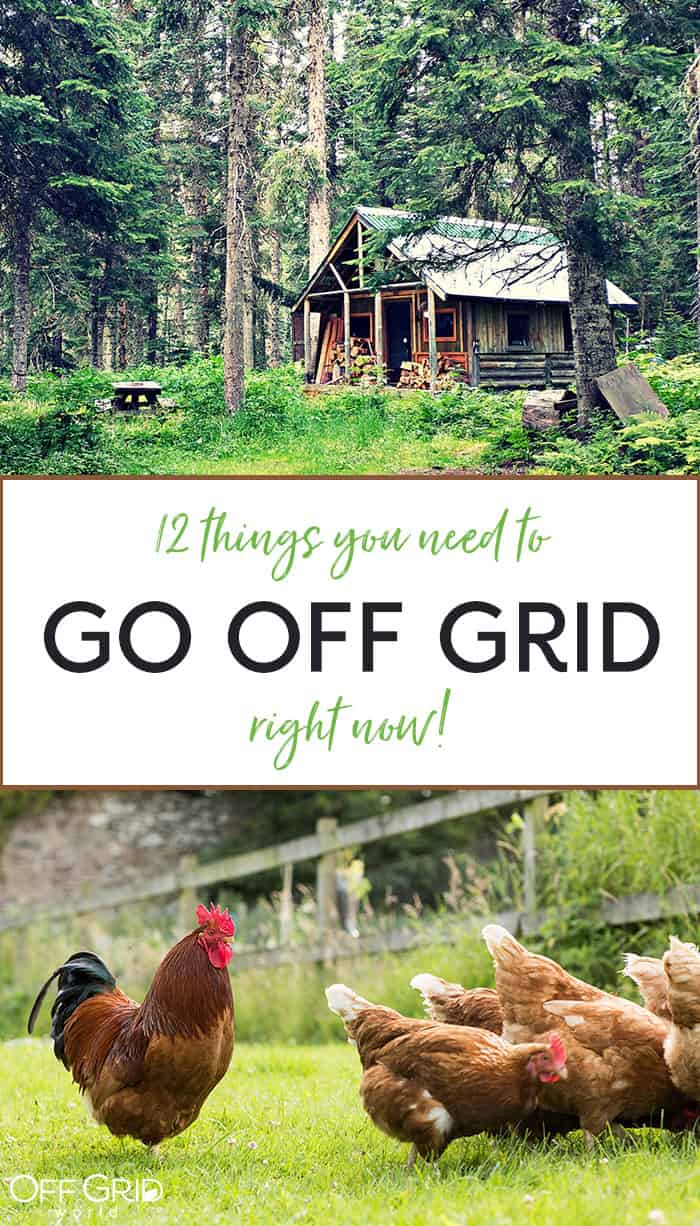 Go off grid