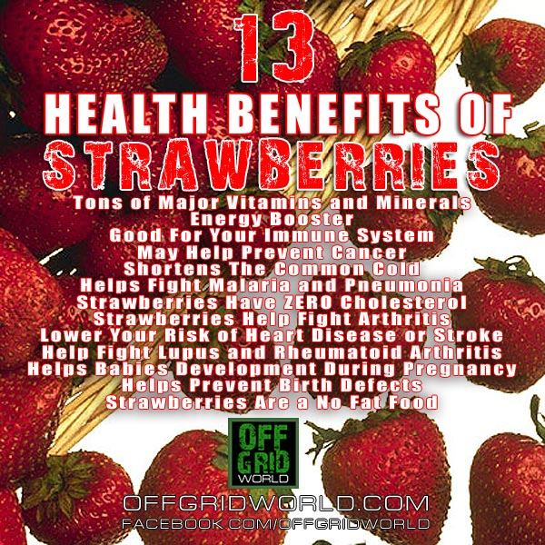 13 Health Benefits of Strawberries