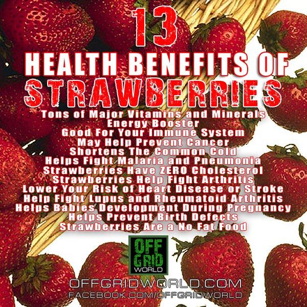 13 Health Benefits Of Strawberries
