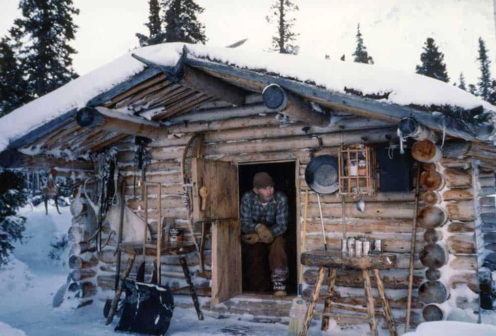 Proenneke off grid cabin