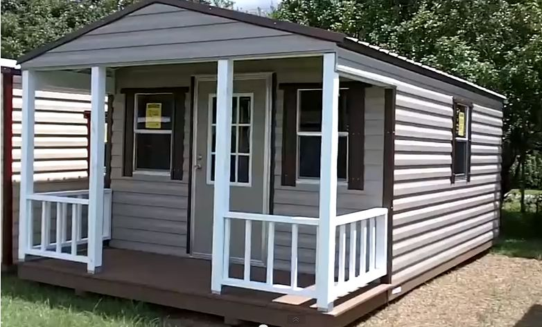 Buy A Tiny House For $100 Down & Plus An Off Grid Cabin For $10K