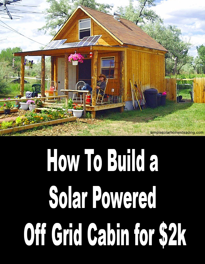 off grid cabin solar systems pics about space