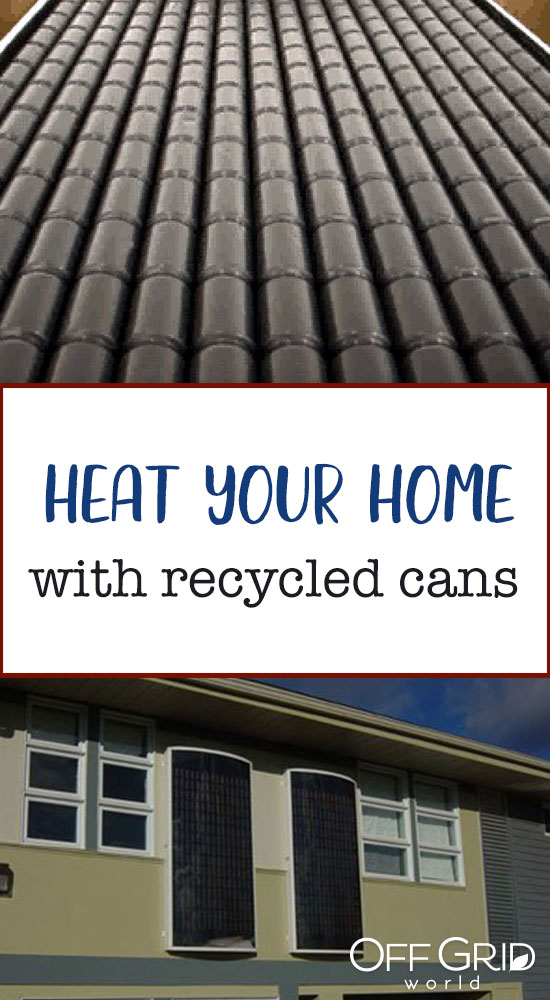 Heat your home with aluminum cans