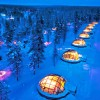 Sleep Under The Northern Lights in a Glass Igloo in Finland