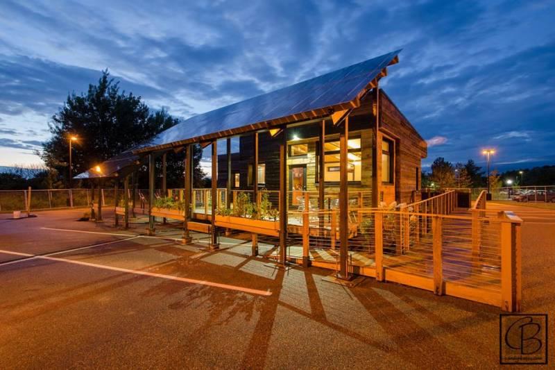 insite tiny solar powered house