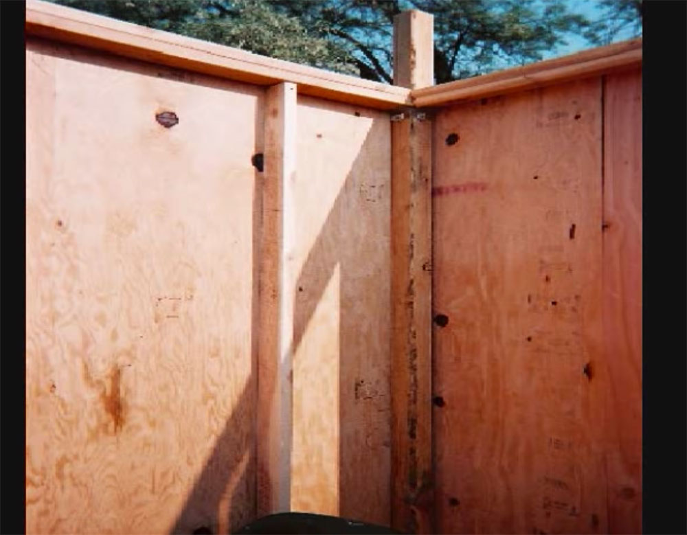 Cabin wall construction