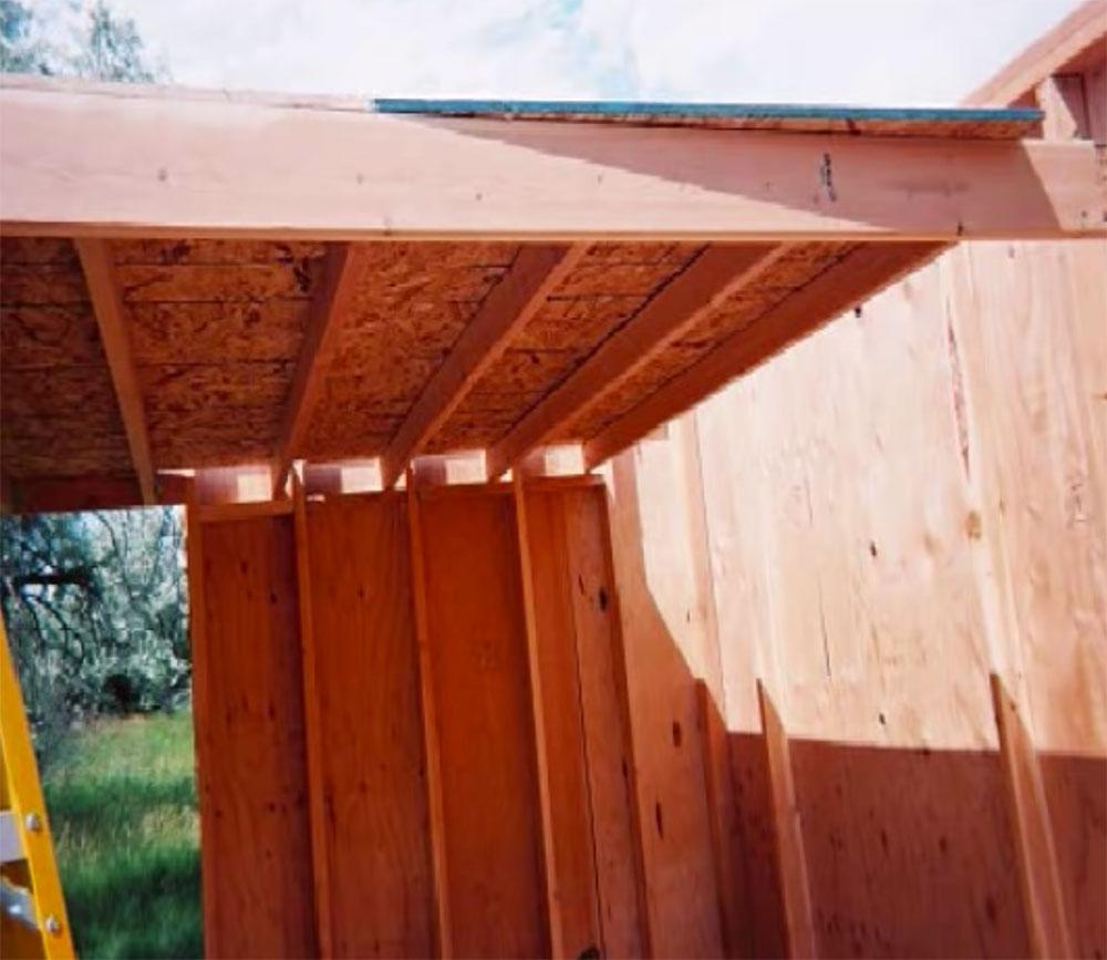 DIY cabin construction