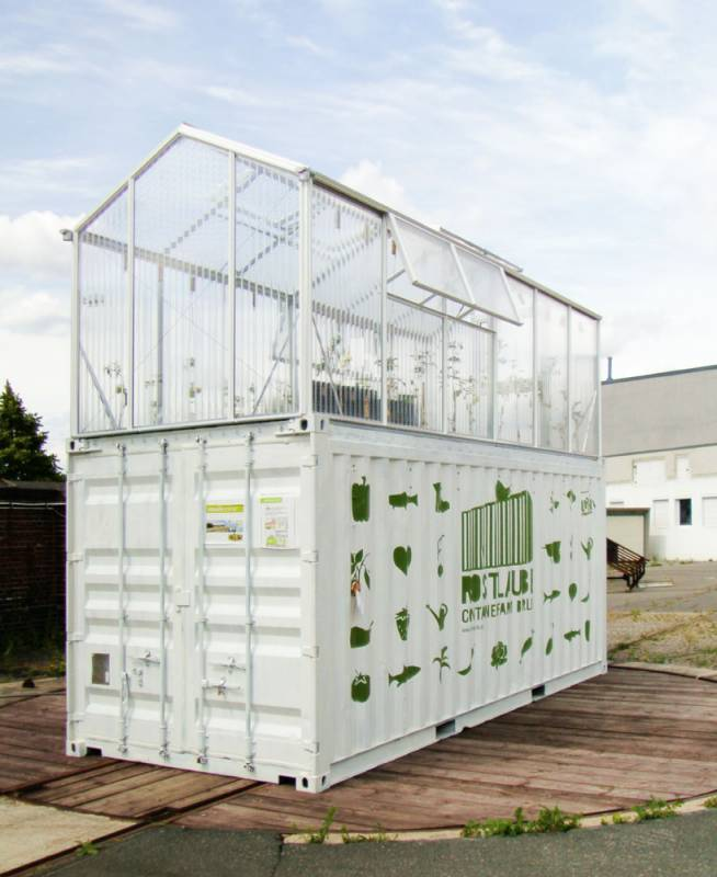 Urbanfarmunit Shipping Container Greenhouse