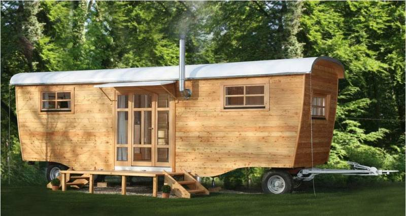 WOHLWAGEN The Ultimate 300sqft Tiny House For 30k