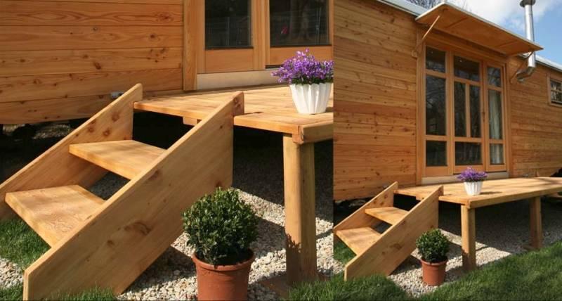 wohlwagen the ultimate 300sqft tiny house for 30k. Black Bedroom Furniture Sets. Home Design Ideas