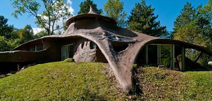 Ensculptic House Mushroom House