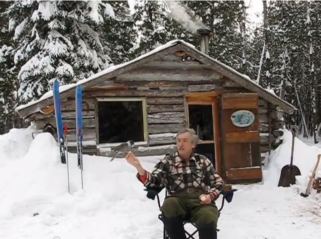 Martin's OFF GRID Cabin