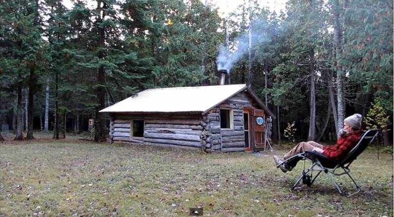 Off Grid Cabin Minnesota