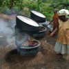 Super Cool Fuel Free Solar Grill Can Cook Food In The Dark!