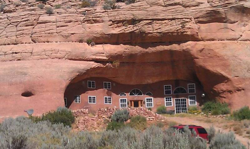 Cave Palace Ranch Solar Powered Cave Dwelling Is Truly A