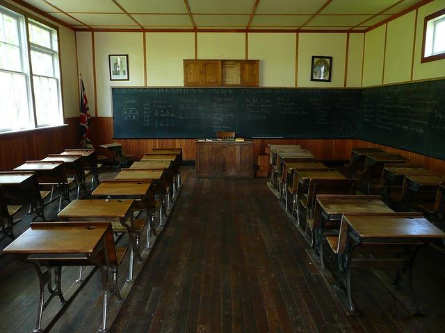 classroom in school
