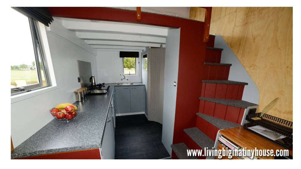 amazing 161sqft off grid tiny house in new zealand built