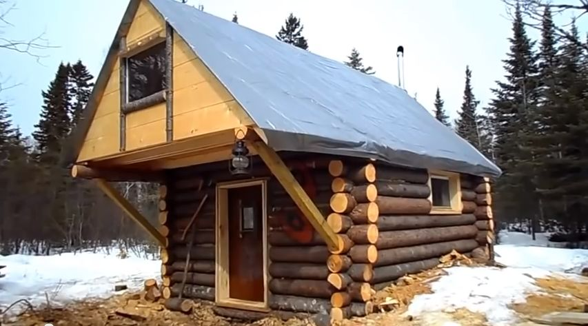 Cozy Log Cabin- How I built it for less than $500