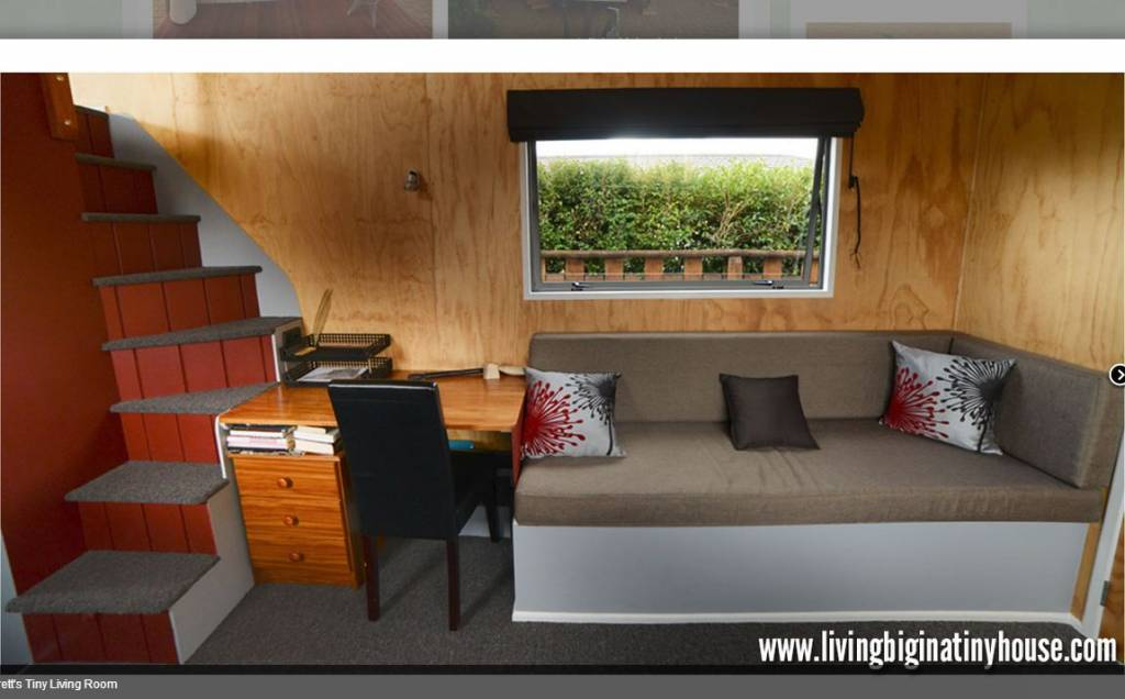Amazing 161sqft off grid tiny house in new zealand built for Tiny house minimalist