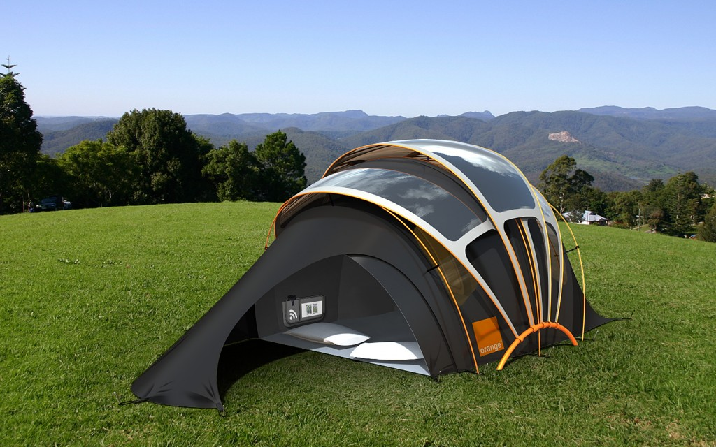 Solar Powered Tent Concept is Off Grid Campers Dream & Can ...