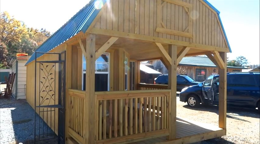 Tiny House_Cabin 12x30 $7695