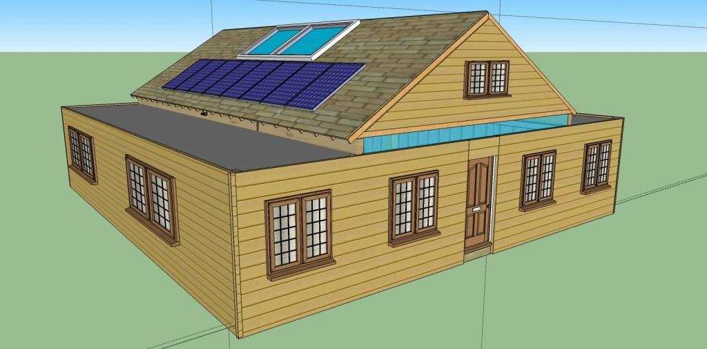 12 Steps How To Build A Cozy 1720sqft Solar Powered