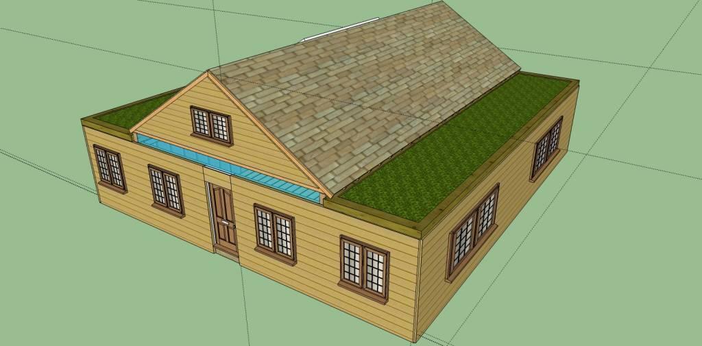 Tiny Home Designs: 12 Steps How To Build A Cozy 1720sqft Solar Powered