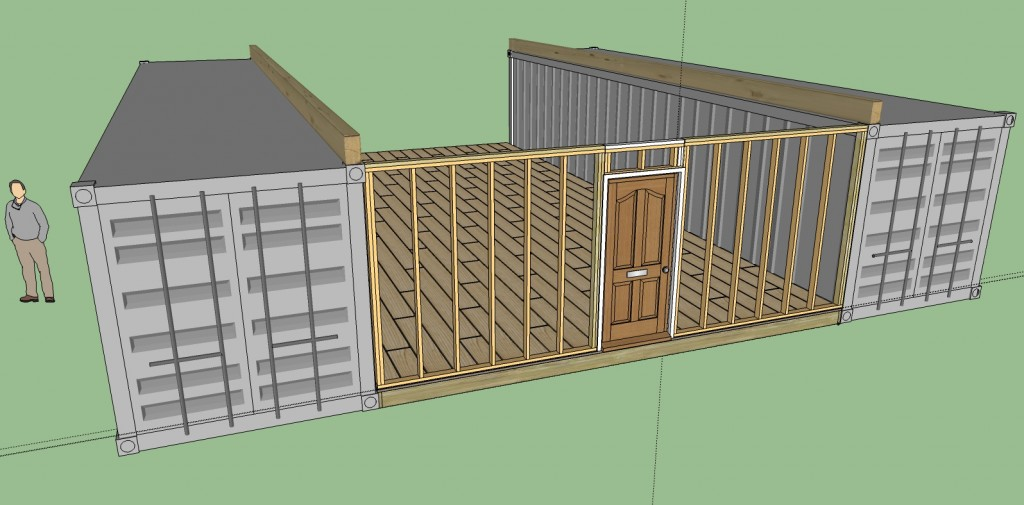 Shipping Container Cabin 12 steps how to build a cozy 1720sqft solar powered shipping