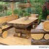 10 Gorgeously Rustic Log Tables You'll Want For Your Cabin
