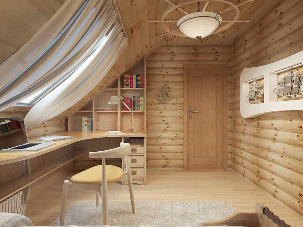 Timber room