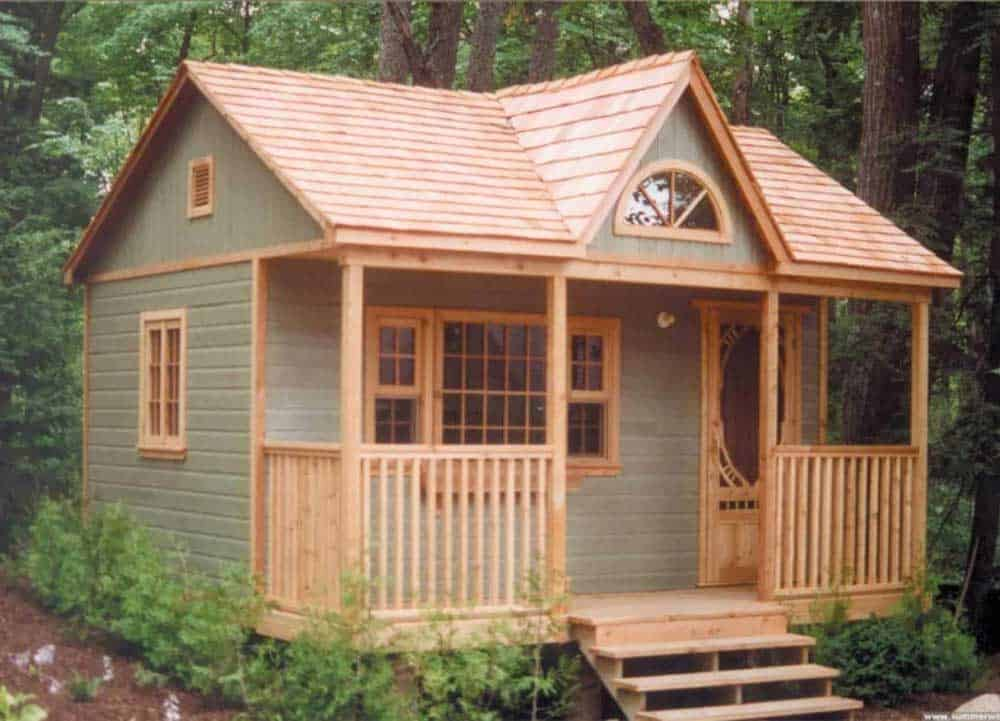 tiny cottage cabin