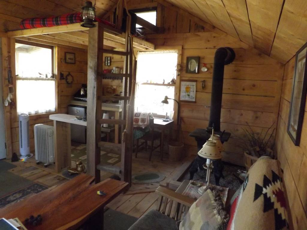 $600 Tiny House Interior