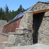 Big Sky Solar Powered Stone Earthship is Off Grid Living Perfection in Montana