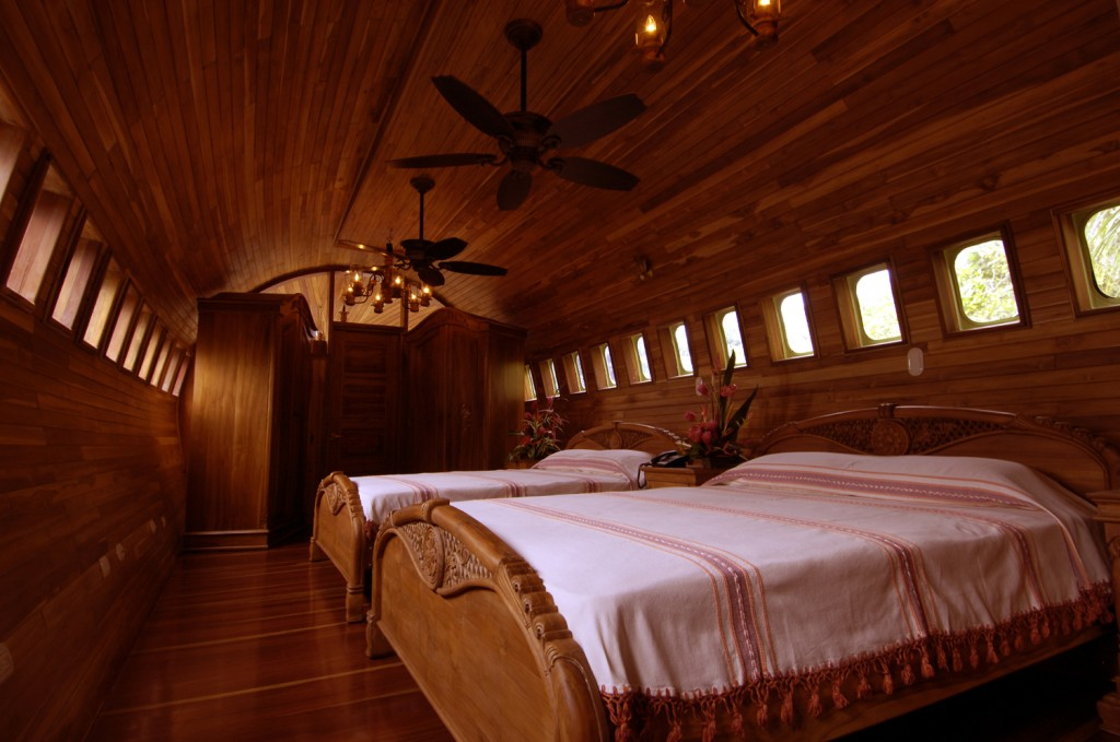 Airplane Converted to Hotel