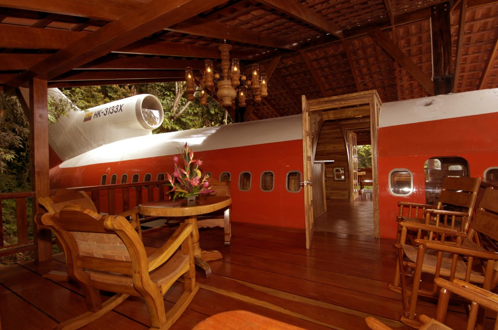 Airplane Converted to Home