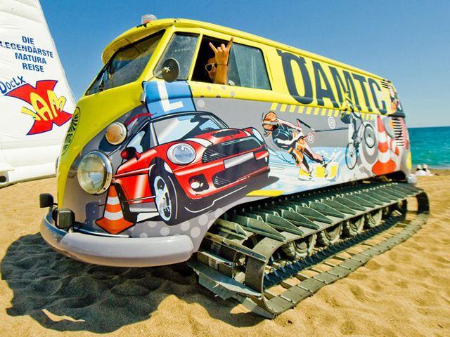 VW Bus Tank