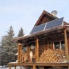 Solar Powered Log Cabin w/Internet & Starbuck's Coffee is Pure Off Grid Perfection!