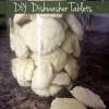 DIY Dishwasher Detergent Tablet Recipe