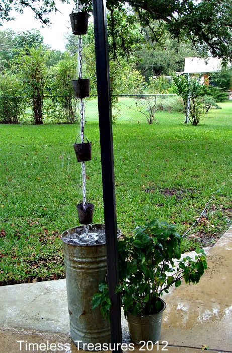 11 Beautiful Diy Rain Chain Ideas Off Grid World